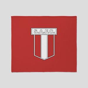 Sunderland AFC Badge Throw Blanket