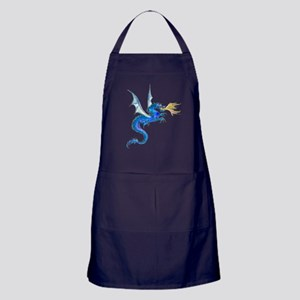 Blue Dragon Apron (dark)