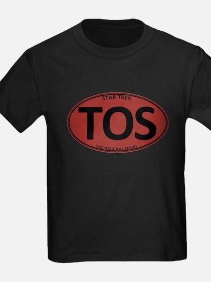 Star Trek: TOS Red Oval T