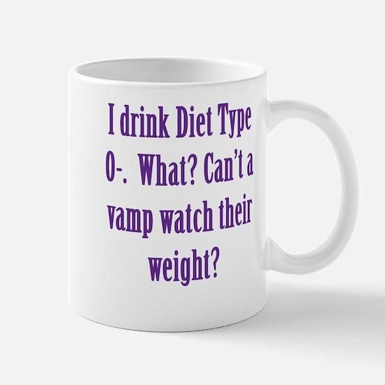 Diet Type O- Mug