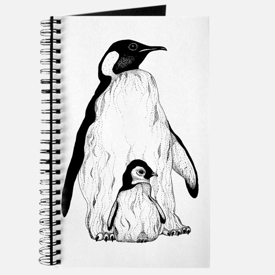 Penguin Parent and Baby Journal