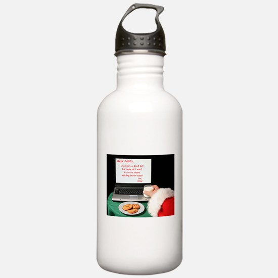 Dear Santa Water Bottle