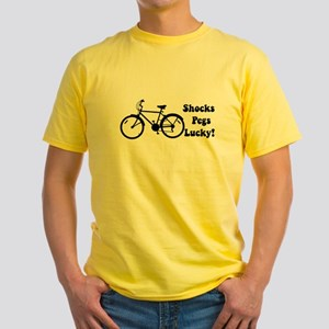 Shocks Pegs Lucky Yellow T-Shirt