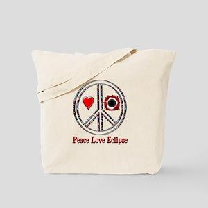 Peace Love Eclipse Tote Bag