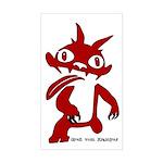 Gruss vom Krampus Bumper Sticker