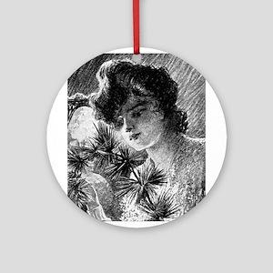 Gil Warzecha - Vintage Illust Ornament (Round)