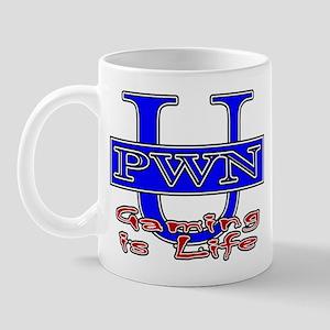 "PWN U ""Gaming Is Life"" Mug"