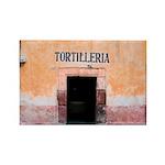 Tortilleria in San Miguel, MX Rectangle Magnet (10