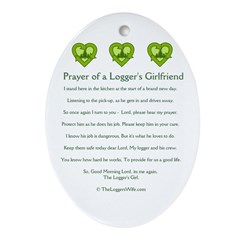 Prayer loggers girlfriend ornament oval prayer of a loggers prayer loggers girlfriend ornament oval prayer of a loggers girlfriend the loggers wife altavistaventures Image collections