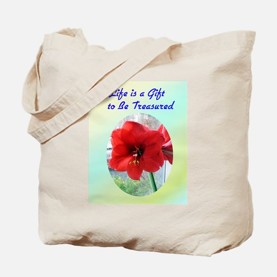 Life is a Gift Tote Bag