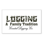 Family Tradition Sticker (Rectangle)
