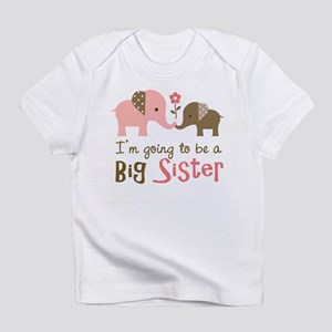 Big Sister to be - Mod Elephant Infant T-Shirt