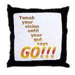 Tweak Your Vision Throw Pillow