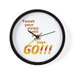 Tweak Your Vision Wall Clock