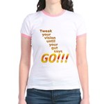 Tweak Your Vision Jr. Ringer T-Shirt