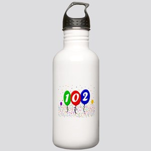 102nd Birthday Stainless Water Bottle 1.0L