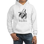 Guy Fawkes Hooded Sweatshirt - Front Print Only