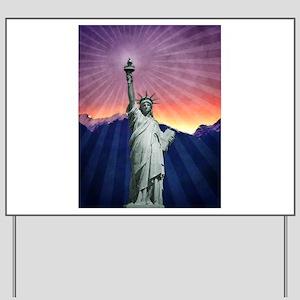 Statue of Liberty Yard Sign