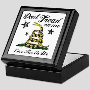 Live Free or Die Keepsake Box