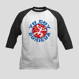 Yo Soy Boricua - Blu-Rd Kids Baseball Jersey