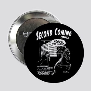 """Second Coming Comics 2.25"""" Button"""