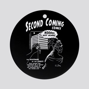 Second Coming Comics Ornament (Round)