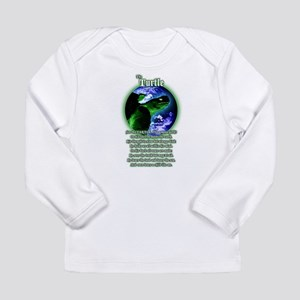 """The Turtle"" Long Sleeve Infant T-Shirt"