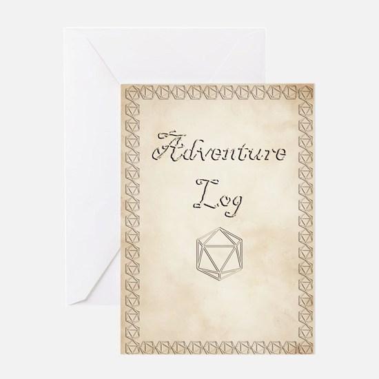 Adventure Log Greeting Cards