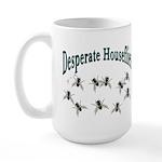 Desperate Houseflies Large Mug