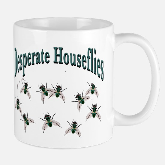 Desperate Houseflies Mug