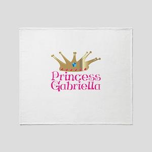 Princess Gabriella Throw Blanket