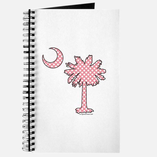 Pink polka dot palmetto Journal