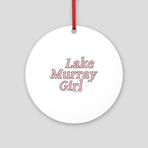 Lake Murray girl Ornament (Round)