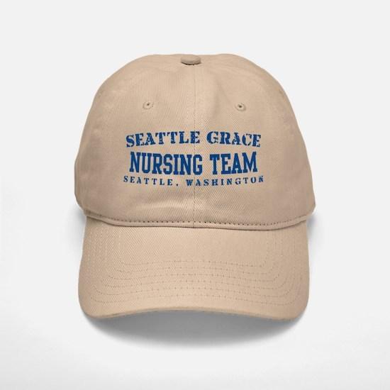 Nursing Team - Seattle Grace Baseball Baseball Cap