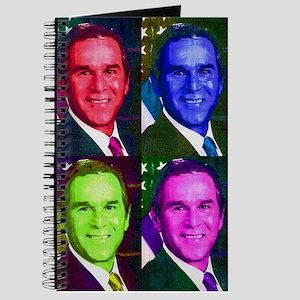 Colorful George W. Bush Journal