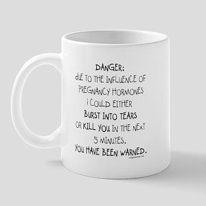 You have been warned funny pregnancy Mug