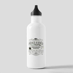 Vintage Programmer Stainless Water Bottle 1.0L