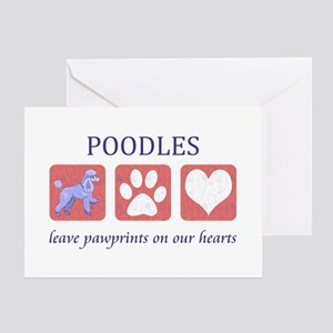 Miniature Poodle Lover Greeting Card
