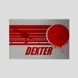 Dexter Blood Spatter Rectangle Magnet