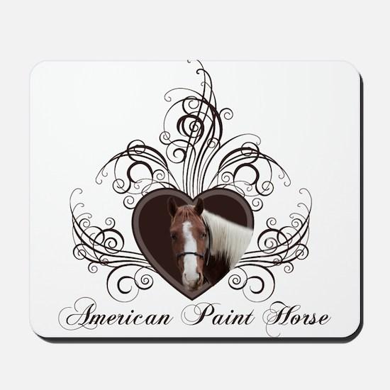 Hearts & Horses Mousepad