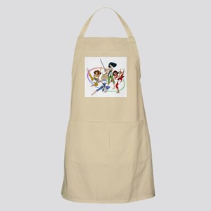 The Karate Angels animation g Apron