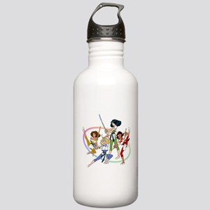 The Karate Angels animation g Stainless Water Bott