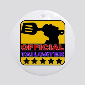 Official Tailgater Ornament (Round)