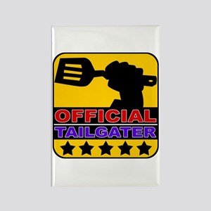Official Tailgater Rectangle Magnet