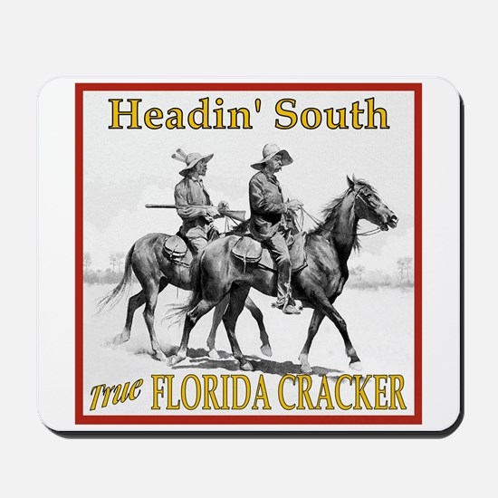 Two Riders Headin'South Mousepad
