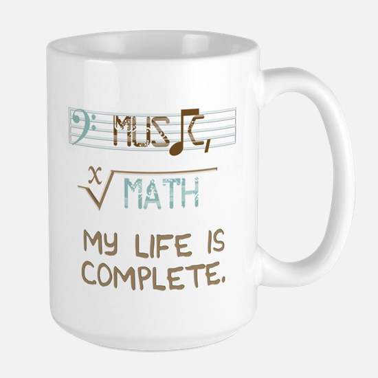 music and math Large Mug