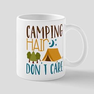 Camping Hair Don't Care Mugs