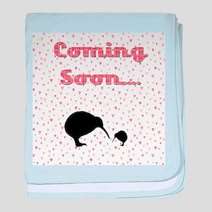Baby Girl Kiwi baby blanket