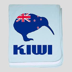 New Zealand Kiwi baby blanket