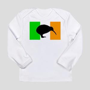 Irish Flag Kiwi Long Sleeve Infant T-Shirt